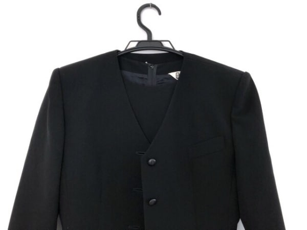 pierre cardin(ピエールカルダン) ワンピーススーツ サイズ11AR M レディース 黒