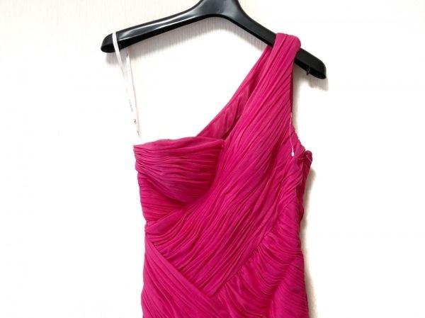 SUEWONG(スーウォン) ドレス サイズ0 XS レディース美品  ピンク ロング丈/プリーツ