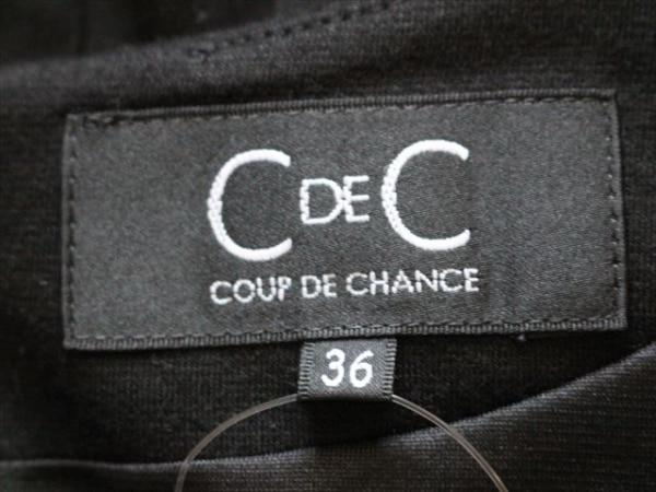 CdeC COUP DE CHANCE(クードシャンス) ワンピース サイズ36 S レディース美品  黒
