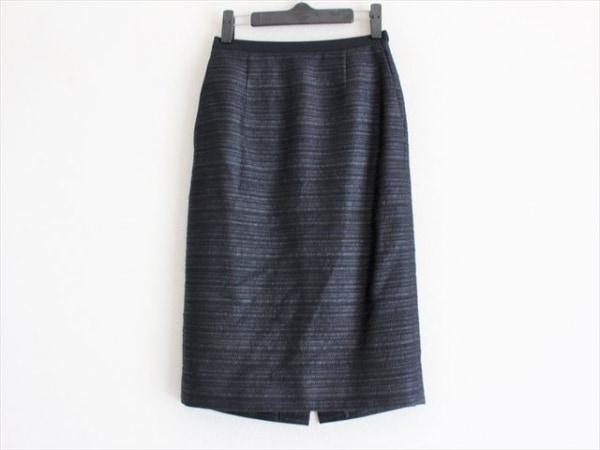 EPOCA(エポカ) スカート サイズ38 M レディース美品  ダークネイビー ラメ