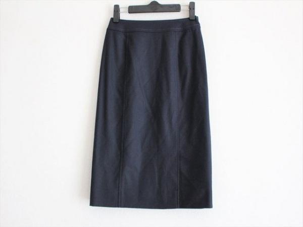 miss ashida(ミスアシダ) スカート サイズ7 S レディース美品  ダークネイビー