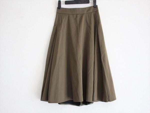 23区(ニジュウサンク) スカート サイズ32 XS レディース美品  カーキ