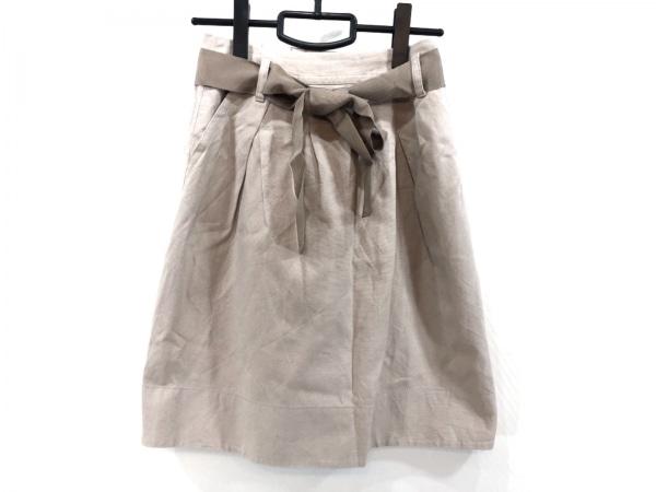 EPOCA(エポカ) スカート サイズ38 M レディース美品  ベージュ