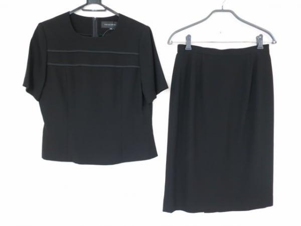 ソワールベニール スカートセットアップ サイズ13AR M レディース美品  黒