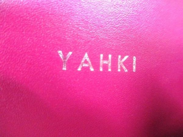 YAHKI(ヤーキ) ハンドバッグ パープル 2way レザー