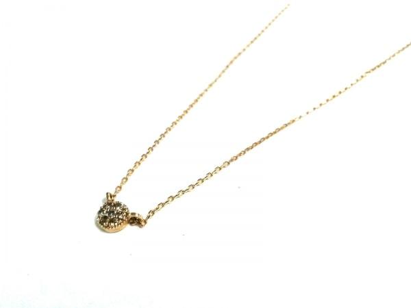 ete(エテ) ネックレス美品  - - K10YG×ダイヤモンド パヴェダイヤ