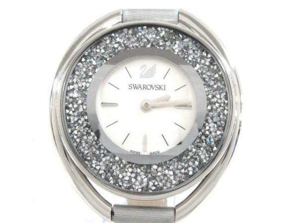 SWAROVSKI(スワロフスキー) 腕時計 - レディース シルバー