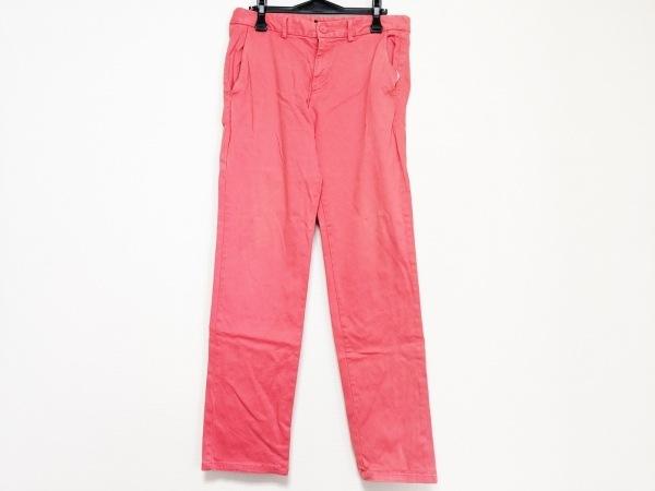 hum(ハム) パンツ サイズ32 XS メンズ レッドオレンジ