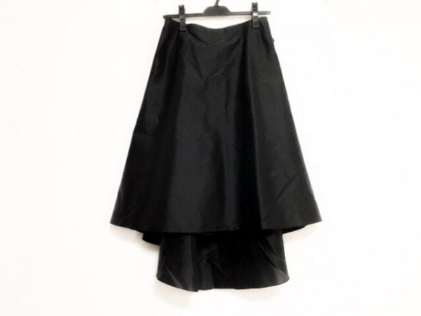 FOXEY(フォクシー) ロングスカート サイズ42 L レディース美品  黒