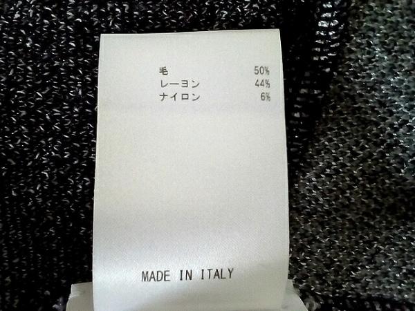 MISSONI(ミッソーニ) ワンピース サイズ40 M レディース美品  アイボリー×黒 ニット