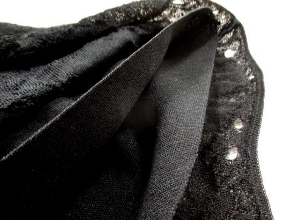 CHANEL(シャネル) スカート サイズ36 S レディース美品  P45363 黒 ニット