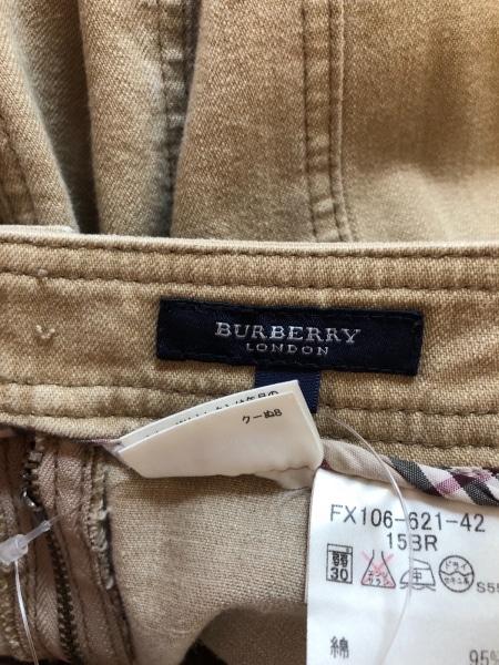 バーバリーロンドン ロングスカート サイズ15 L レディース ベージュ
