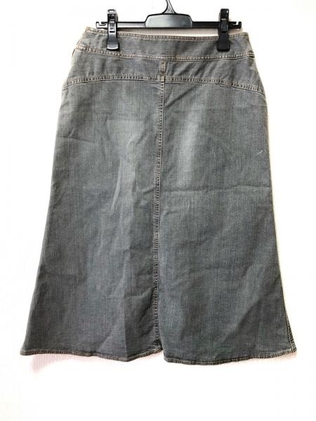 23区(ニジュウサンク) ロングスカート サイズ46 XL レディース美品  グレー デニム