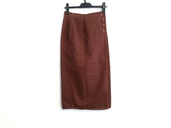 ラルフローレン カントリー 巻きスカート サイズ1 S レディース ブラウン