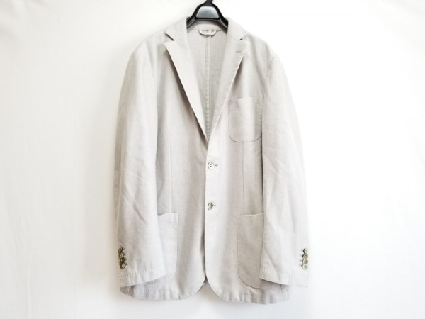 L.B.M.1911(エルビーエム1911) ジャケット サイズ52 メンズ ライトグレー
