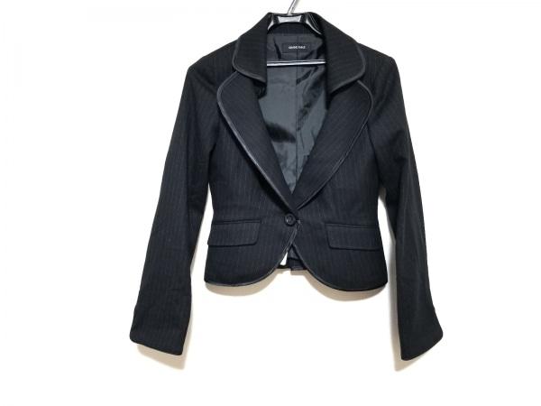 Grand Table(グランターブル) ジャケット サイズZ レディース美品  黒×ライトグレー