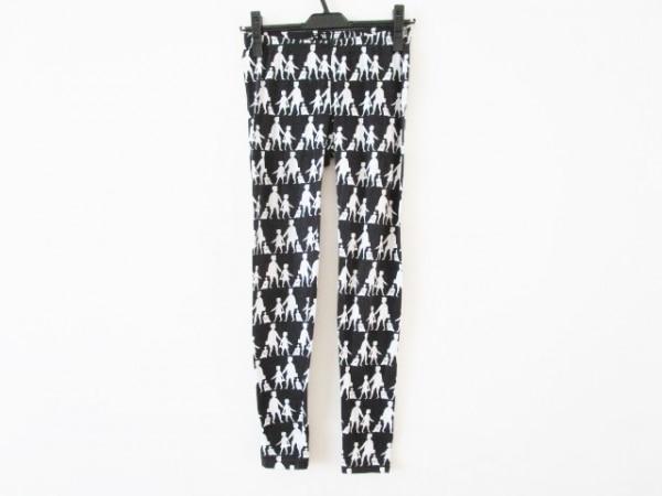 Devastee(ディバステ) パンツ サイズ36 S レディース 黒×白 ストレッチ素材