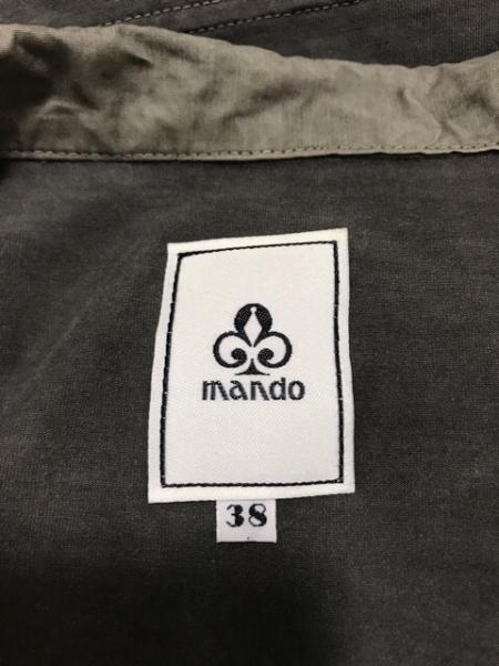 mando(マンド) ワンピースセットアップ サイズ38 M レディース美品  カーキ