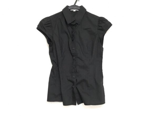 NARACAMICIE(ナラカミーチェ) 半袖シャツブラウス サイズ0 XS レディース美品  黒