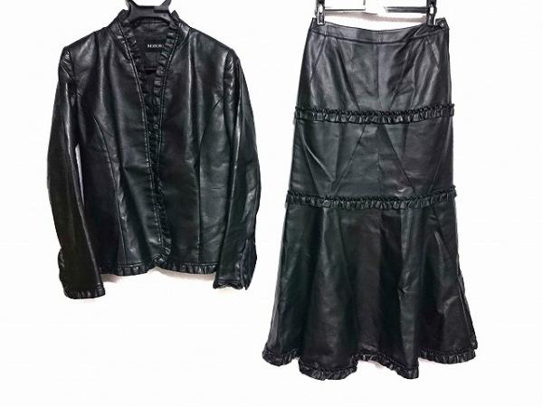 INGEBORG(インゲボルグ) スカートセットアップ サイズM レディース美品  黒
