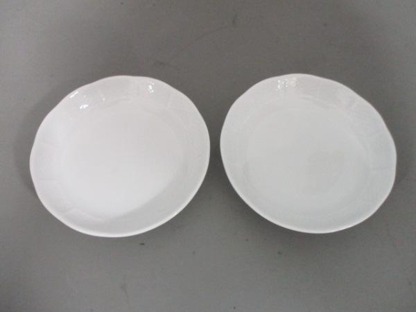 Richard Ginori(リチャードジノリ) プレート新品同様  白 プレート×2 陶器