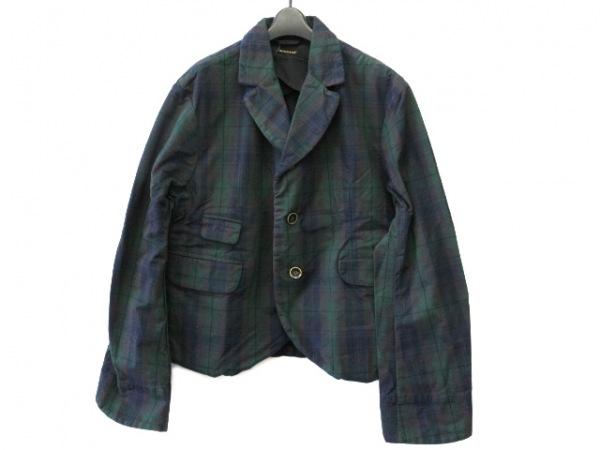 キャピタル ジャケット サイズ3 L メンズ ダークグリーン×ダークネイビー×マルチ