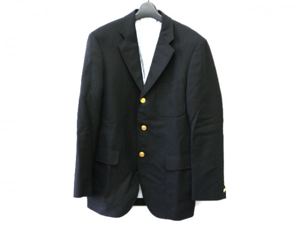 J.PRESS(ジェイプレス) ジャケット サイズA6 メンズ ダークネイビー 肩パッド
