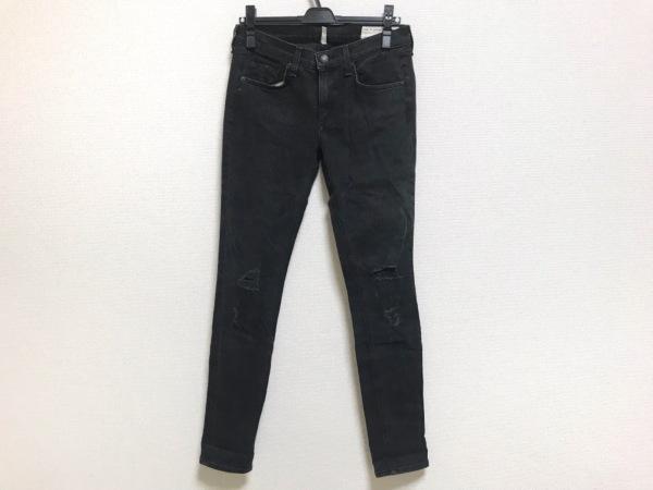 ラグアンドボーン パンツ サイズ27 M レディース美品  ダークグレー ダメージ加工