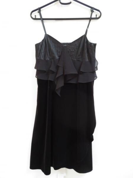 GRACE CONTINENTAL(グレースコンチネンタル) ドレス サイズ36 S レディース美品  黒