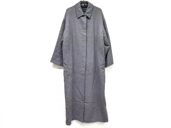 iBlues(イブルース) コート サイズ42 L レディース美品  グレー ロング丈/冬物