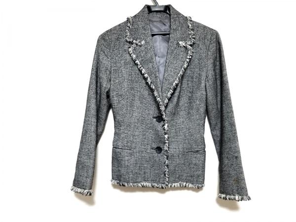 NOVESPAZIO(ノーベスパジオ) ジャケット サイズ38 M レディース美品  黒×白