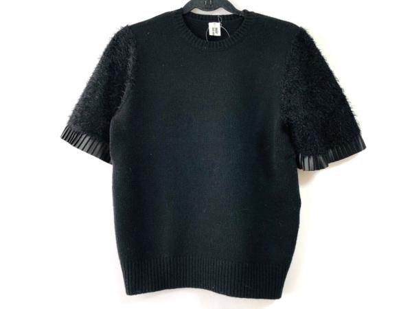 コムデギャルソンノワールケイニノミヤ 半袖セーター サイズM レディース 黒
