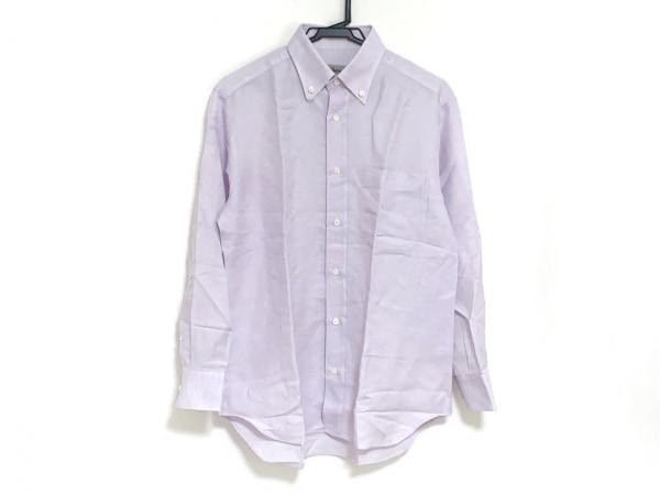 Brioni(ブリオーニ) 長袖シャツ サイズ2 M メンズ パープル