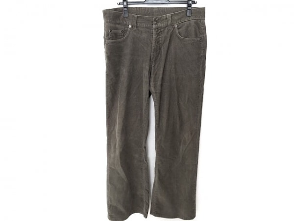 GUCCI(グッチ) パンツ サイズ50 M メンズ美品  グレー コーデュロイ