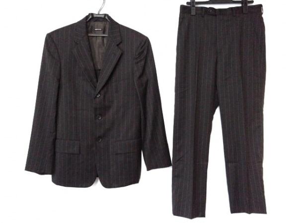 ジョルジオアルマーニ シングルスーツ サイズ46 S メンズ美品  ストライプ