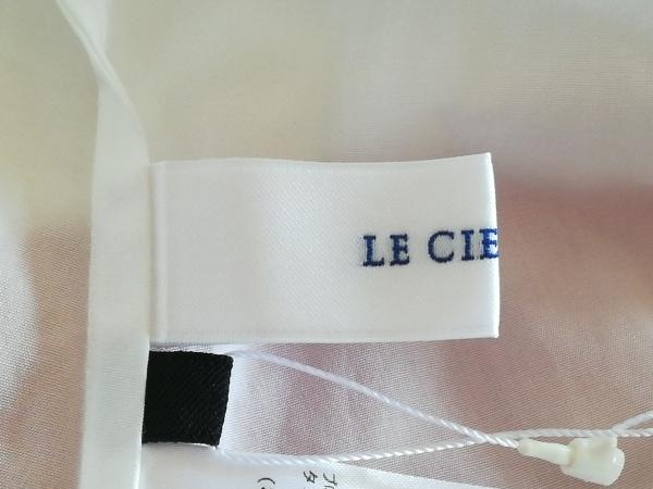 LE CIEL BLEU(ルシェルブルー) チュニック サイズ40 M レディース 白