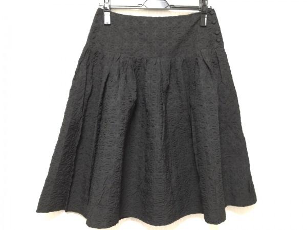 miumiu(ミュウミュウ) スカート サイズ40 M レディース 黒