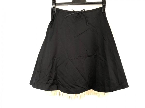 SCYE(サイ) スカート サイズ38 M レディース美品  黒×ベージュ