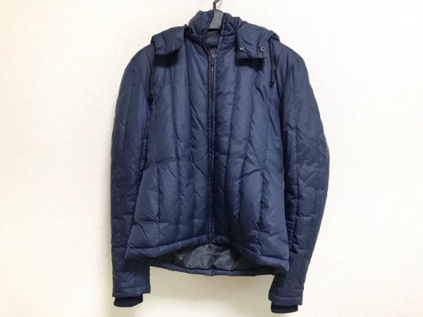 SHELLAC(シェラック) ダウンジャケット サイズ44 L メンズ ネイビー