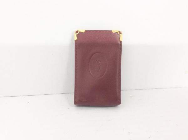 Cartier(カルティエ) シガレットケース マストライン ボルドー レザー