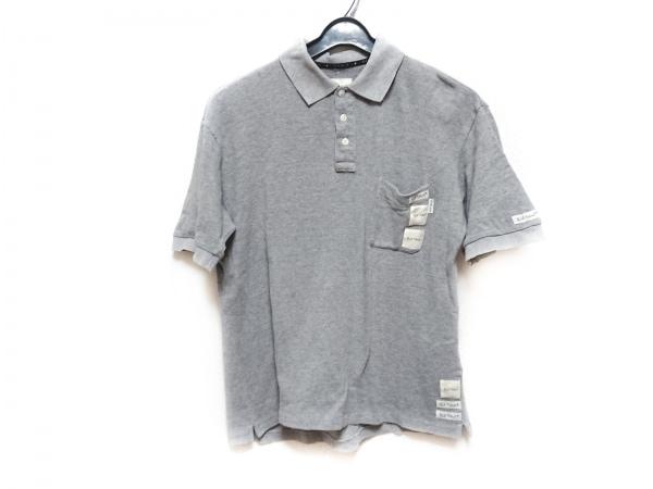 KarlHelmut(カールヘルム) 半袖ポロシャツ サイズM メンズ グレー