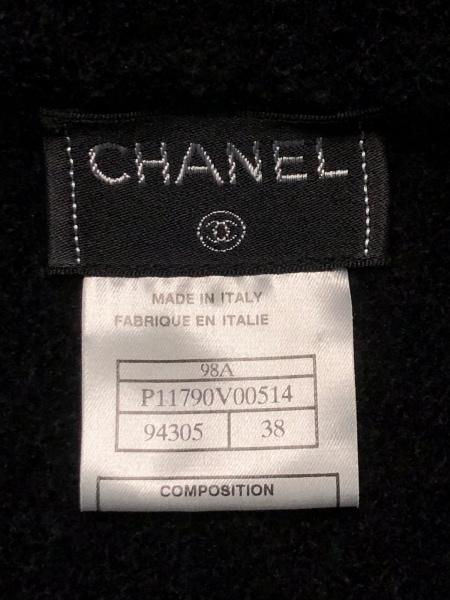 CHANEL(シャネル) 長袖セーター サイズ38 M レディース美品  黒