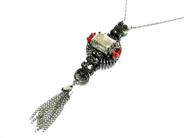 ANTON HEUNIS(アントン・ヒュニス) ネックレス美品  金属素材×カラーストーン