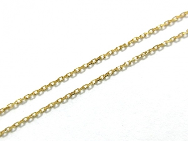 Enasoluna(エナソルーナ) ネックレス新品同様  EN-NK-829 K18YG×ダイヤモンド