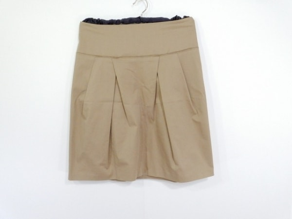 PRADA(プラダ) スカート サイズ38 S レディース ベージュ