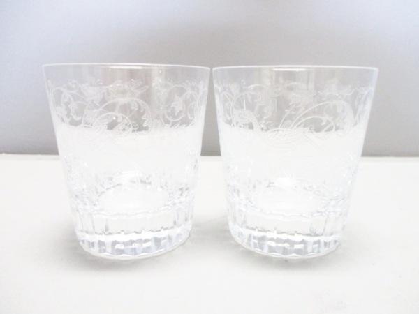 Baccarat(バカラ) ペアグラス新品同様  パルメ クリア クリスタルガラス