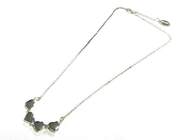 FolliFollie(フォリフォリ) ネックレス美品  金属素材 シルバー クローバー