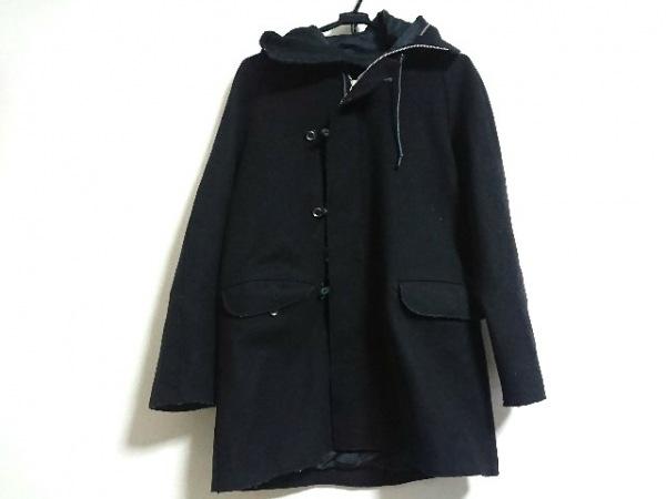 BASILE(バジーレ) コート サイズ40 M レディース 黒 冬物/BASILE28