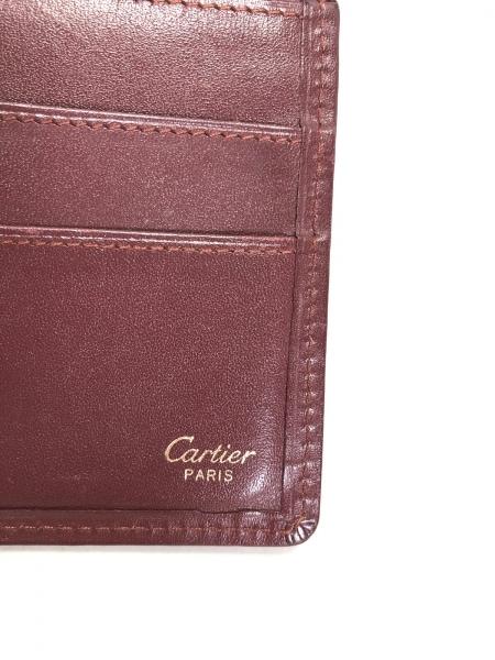 Cartier(カルティエ) 札入れ マストライン ボルドー レザー