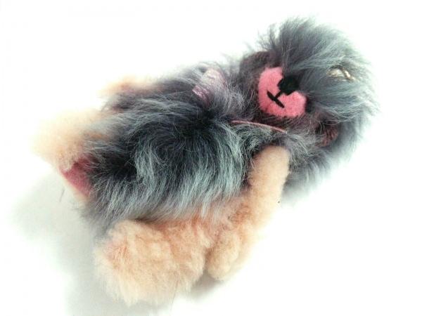 Burberry(バーバリー) キーホルダー(チャーム)美品  トーマスベア 4033315 クマ